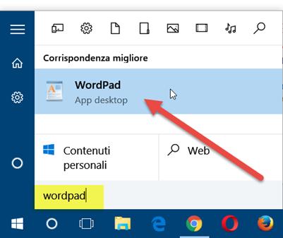 wordpad-windows10