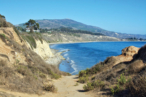 Pathway at the Beach. The Secret to Big Fun in Santa Barbara for Very Little Money