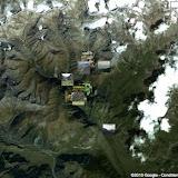 Localisation des photos autour de la vallée de Kyzyl Aksuu