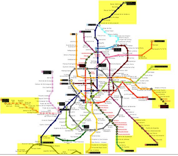 Nuevo acceso sin restricción horaria en varios tramos de líneas de Metro