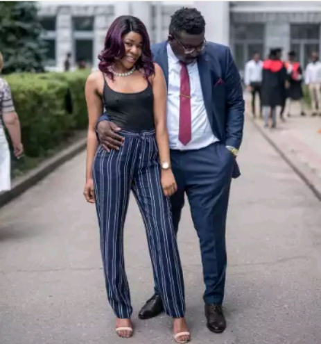 Nigerian Lady Goes Braless In Racy Pre-Wedding Photos With Her Man.