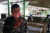 Desa barih bagikan masker untuk warganya