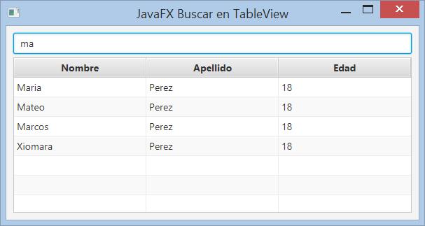 Cuadro de búsqueda para un TableView JavaFX