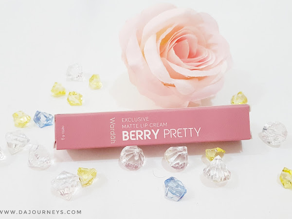 [Review] Wardah Exclusive Matte Lip Cream #10 Berry Pretty