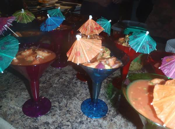 Mexican Shrimp Cocktail Recipe