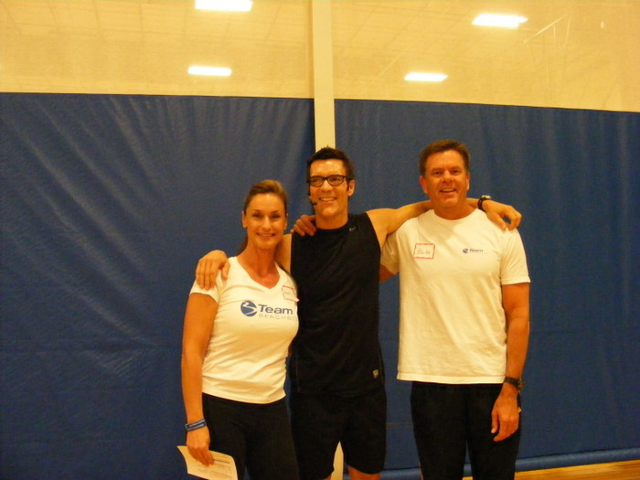 Tony Horton P90x Man With Blake And Angie, Tony Horton