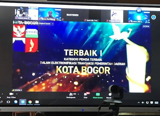 Rakorwil TP2DD dan TPID se-Jawa Barat, Pemkot Bogor Sabet Tiga Kategori Penghargaan