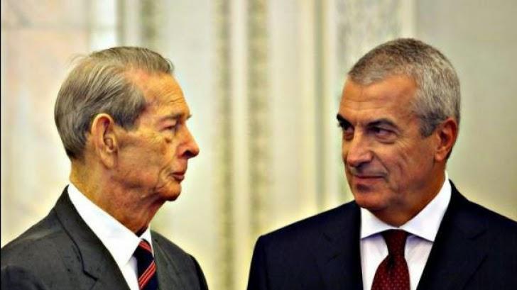 Călin Popescu Tăriceanu: Regele Mihai I reprezintă un reper moral şi o personalitate unificatoare a poporului român