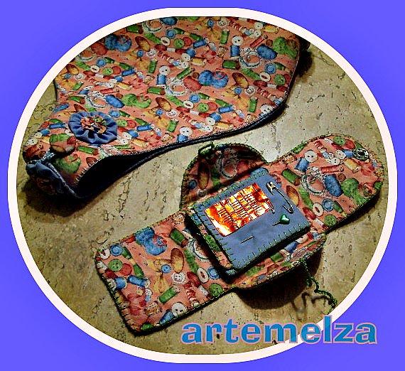 artemelza - carteira agulheiro de bolsa