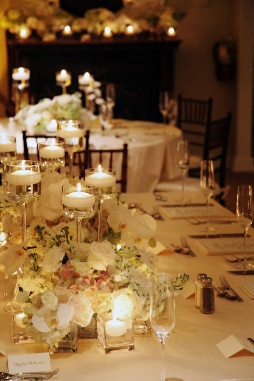 And Table Pink Decorations Wedding Champagne