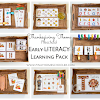 Thanksgiving Preschool Literacy Learning Pack
