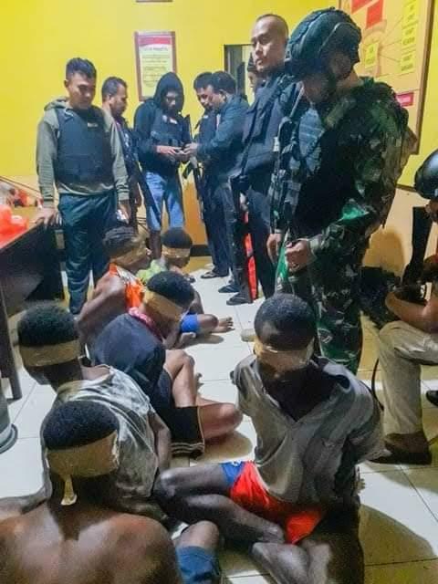 KNPB Maybrat: 6 Orang yang Ditangkap TNI/Polri Tak Terlibat Penyerangan Posramil