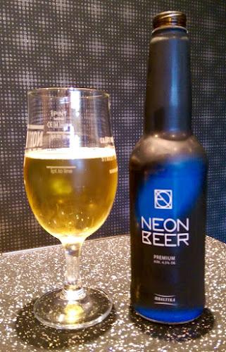 #beersofeuro2016, Euro 2016, Russian beer, Baltika, Neon Bert
