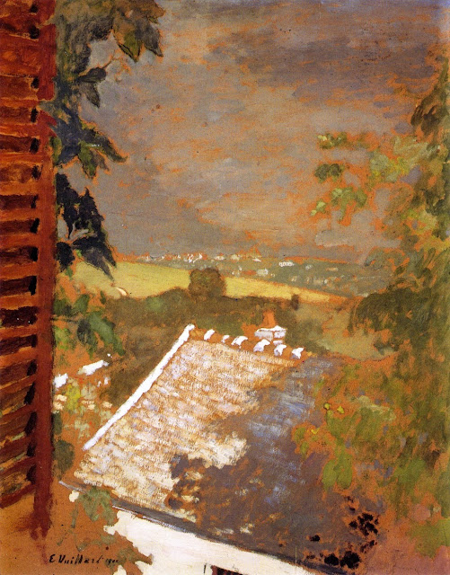 Édouard Vuillard - Window on Lac Léman