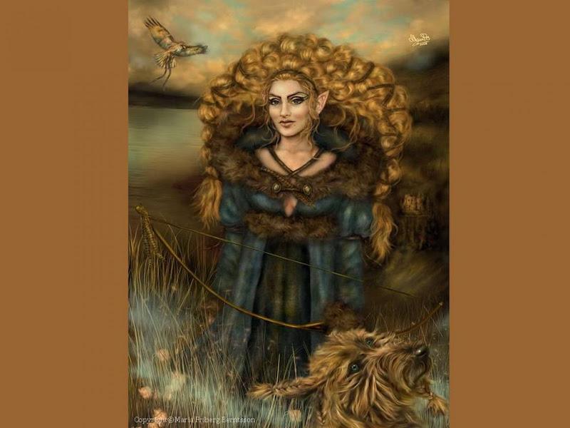 Elven Fairy Of Field, Elven Girls 2