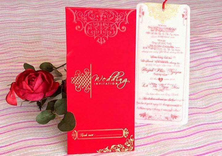 Thiệp cưới giá rẻ