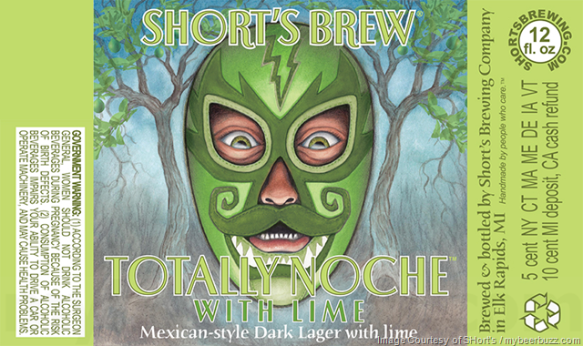 Short's Adding Totally Noche With Lime Bottles