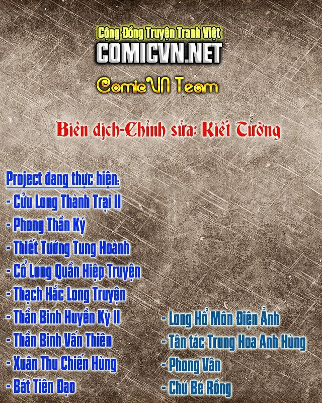 Tân Tác Long Hổ Môn chap 488 - Trang 34