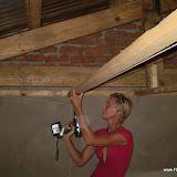 Plafond timmeren