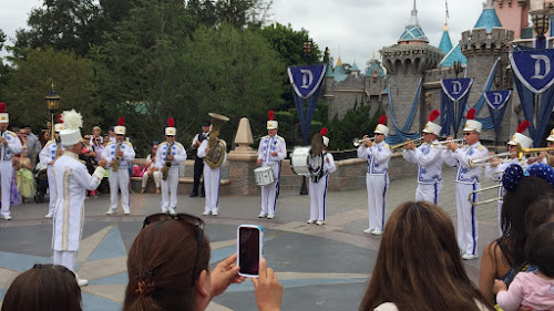 original Disneyland Band Castle show