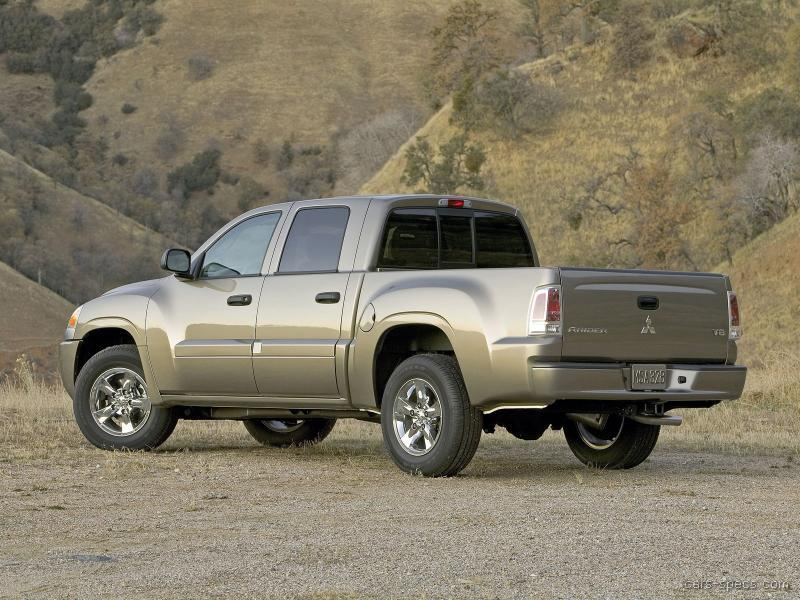 2006 mitsubishi raider double cab specifications pictures prices. Black Bedroom Furniture Sets. Home Design Ideas