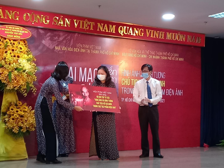 """Khai mạc triển lãm """"Hình ảnh và hình tượng Chủ tịch Hồ Chí Minh trong các tác phẩm điện ảnh"""""""