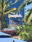 Sweet Disneyland-themed water slide at Disneyland Hotel
