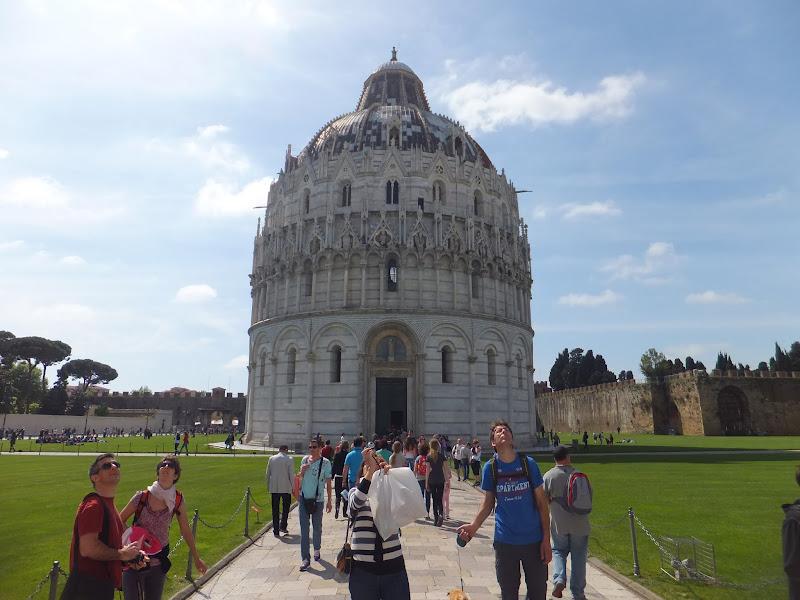 Battistero, Pisa, Toscana