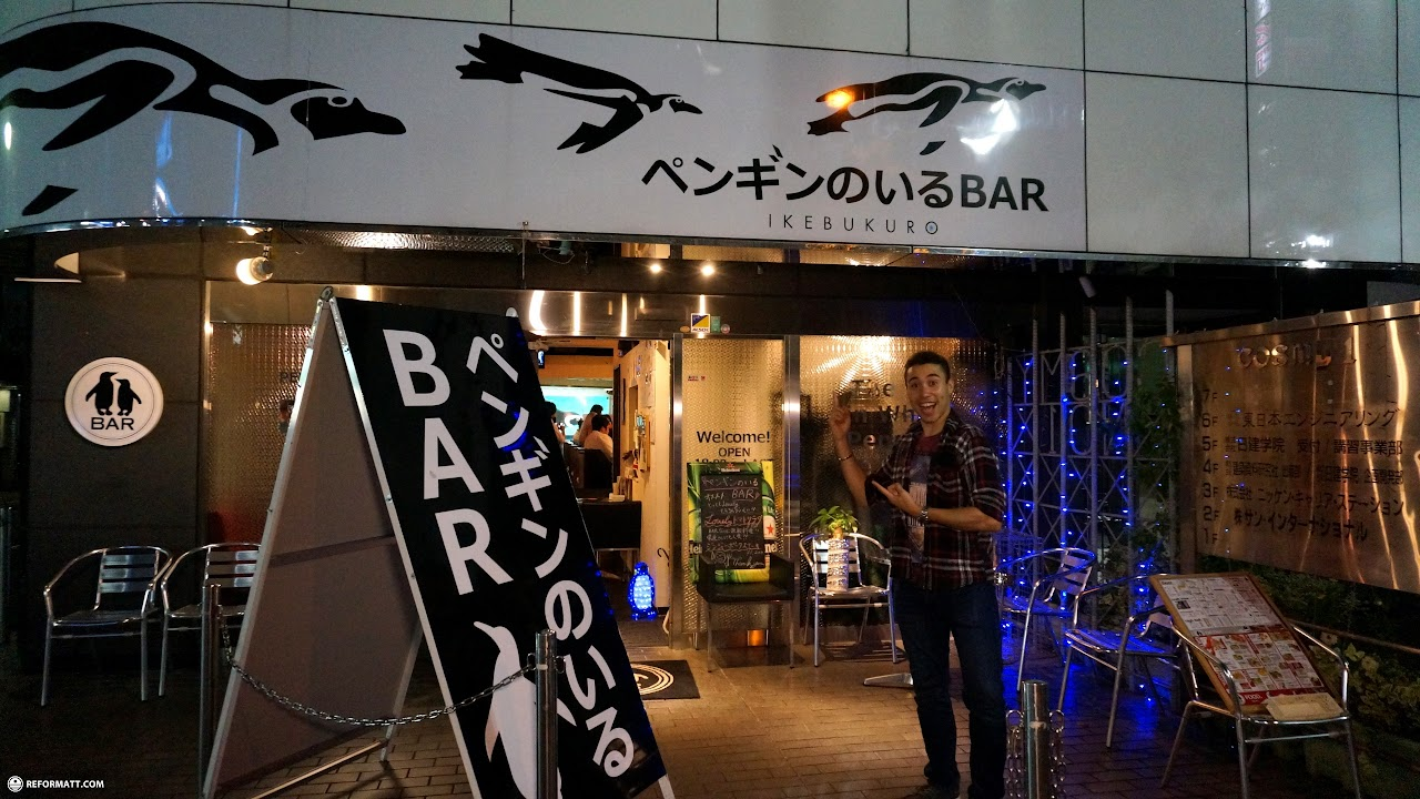 Tokyo Drink With Penguins Bar