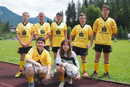 Schulprojekte NMS-Lofer: Fussballturnier 3_4 Kl Juli 2015_16