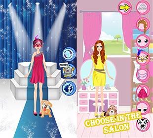 لعبة تلبيس للفتيات