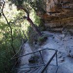 Railing around rock formations (94054)