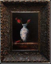 Roses Framed  2.3 inch wide