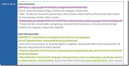 Simposios de participación Mallorquina