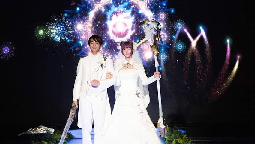 Matrimonio ufficiale a tema Final Fantasy 14 in Giappone si può .