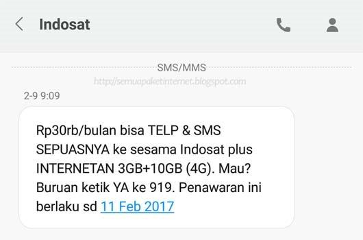 tips Mengaktifkan Paket Internet Murah Indosat via 919