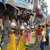अलीगंज : भगवान विष्णु के प्राण-प्रतिष्ठा को लेकर निकाली गई भव्य कलश शोभा यात्रा