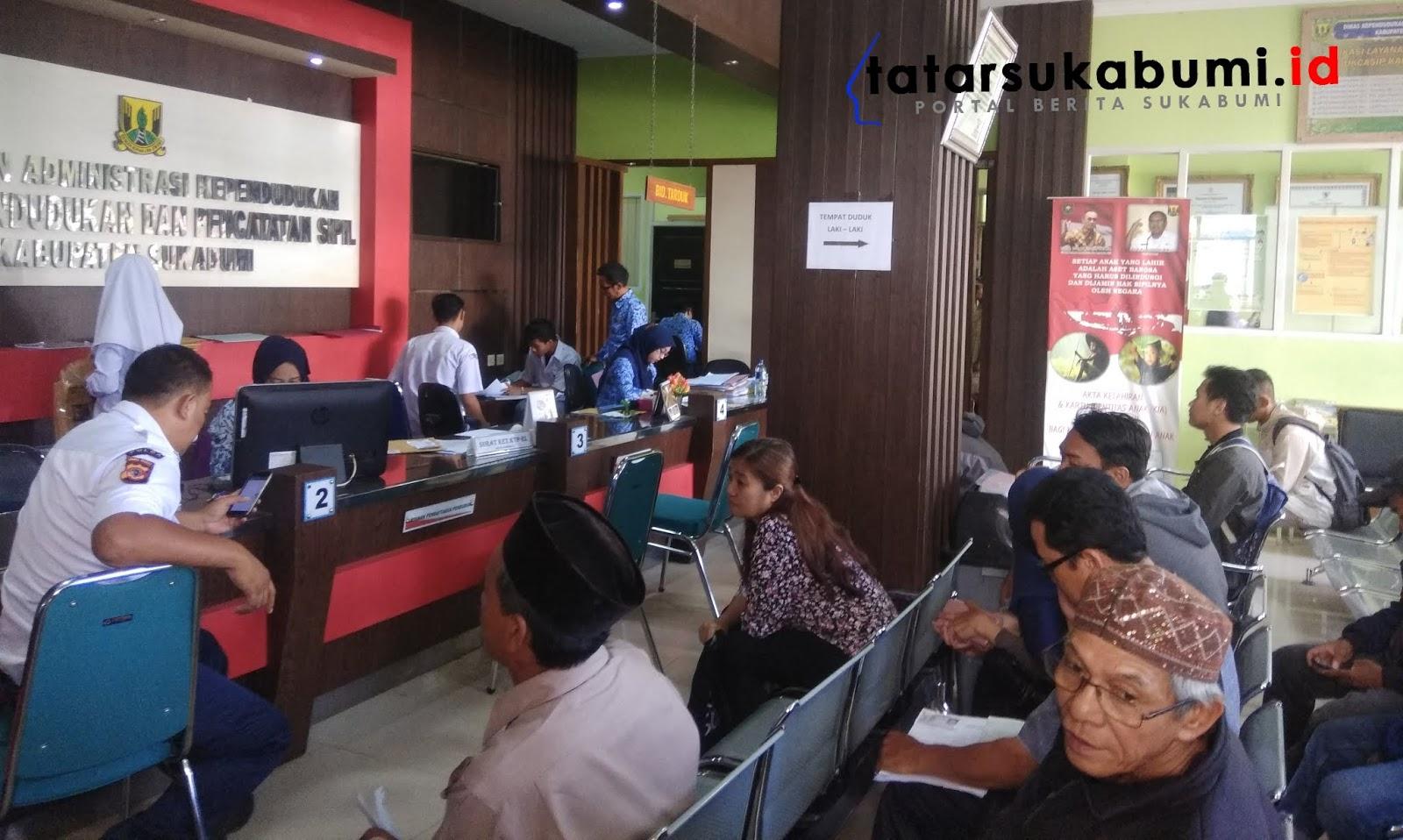 Pemohon Legalisir Akta Kelahiran dan Kartu Keluarga di Sukabumi Melonjak 1000 Persen