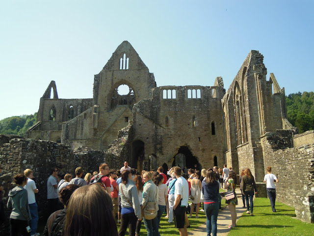 Tintern Abbey. A Guide to Abbeys and Cathedrals in the UK
