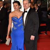 OIC - ENTSIMAGES.COM - Matt Damon and Wife Luciana Barroso  at the  EE British Academy Film Awards 2016 Royal Opera House, Covent Garden, London 14th February 2016 (BAFTAs)Photo Mobis Photos/OIC 0203 174 1069