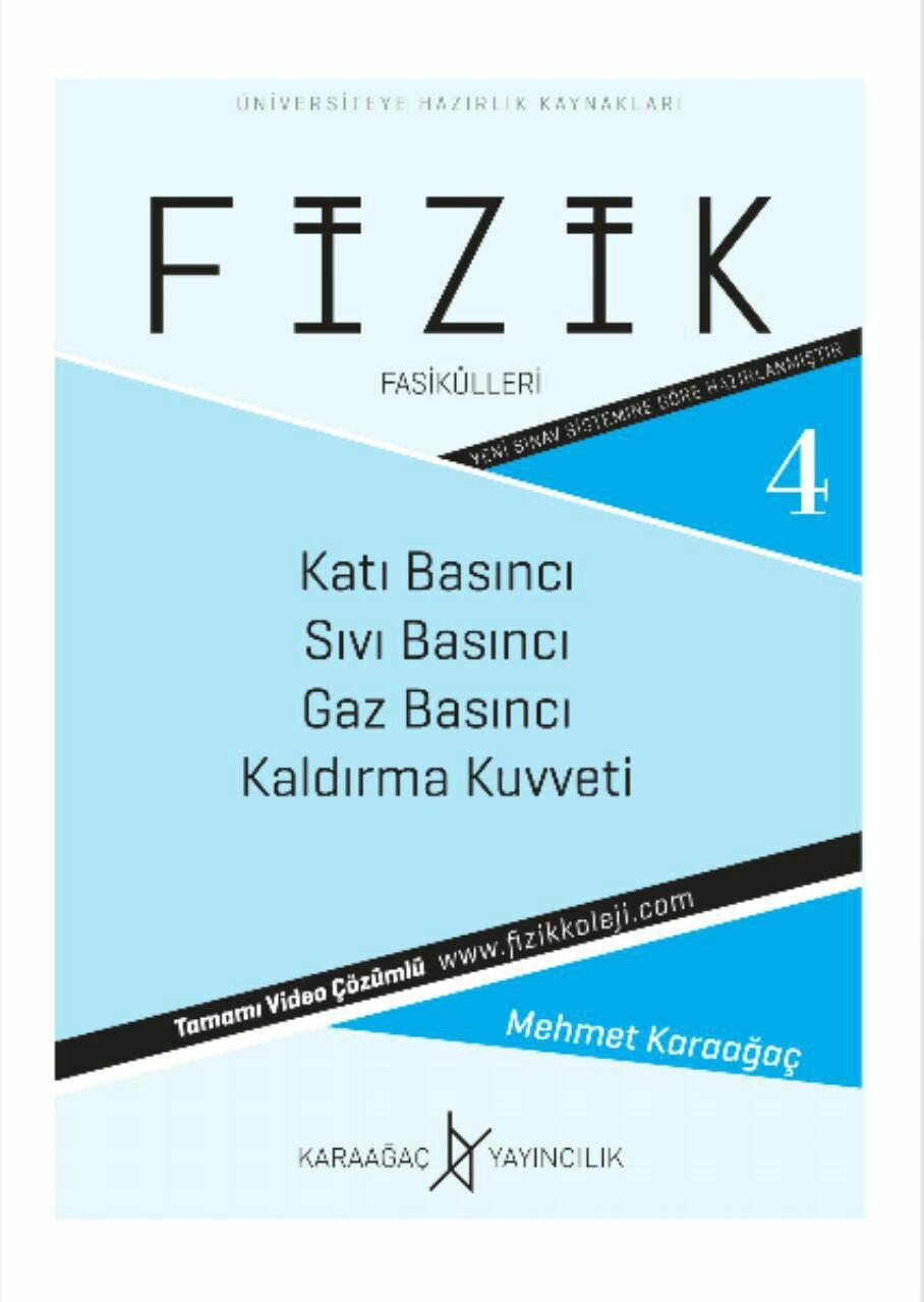 Karaağaç Yayınları YKS Fizik 4. Fasikül