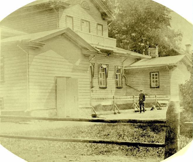 Родовое имение Гордановых в деревне Пелеш