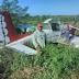 Cae avioneta de fumigación en finca de Montecristi
