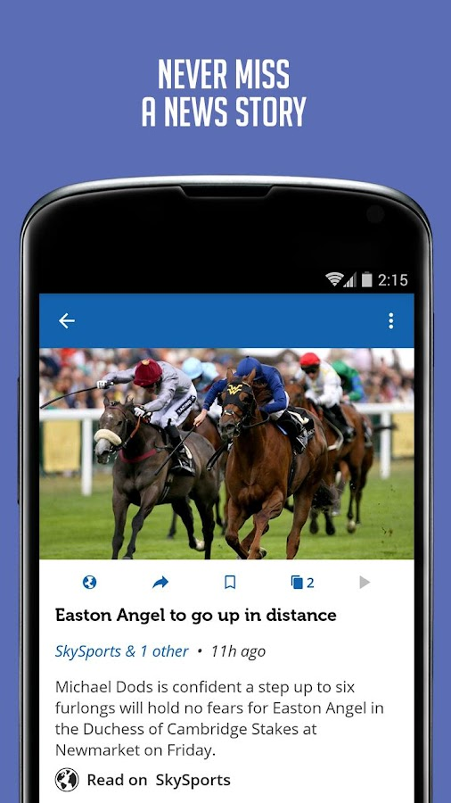Horse Racing News - SF - screenshot