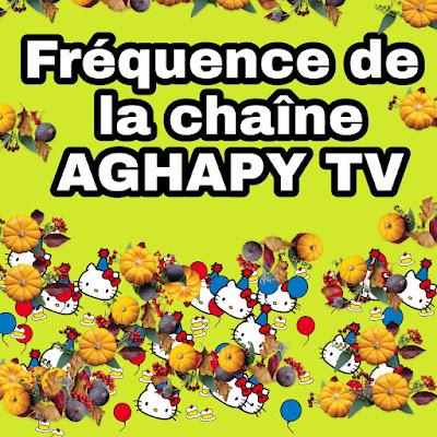 Fréquence de la chaîne AGHAPY TV Chaîne religieuse chrétienne orthodoxe copte sur Satellite Eutelsat 7 West A 7.3° Ouest