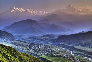 Pogledi na Dhaulagiri in Annapurne