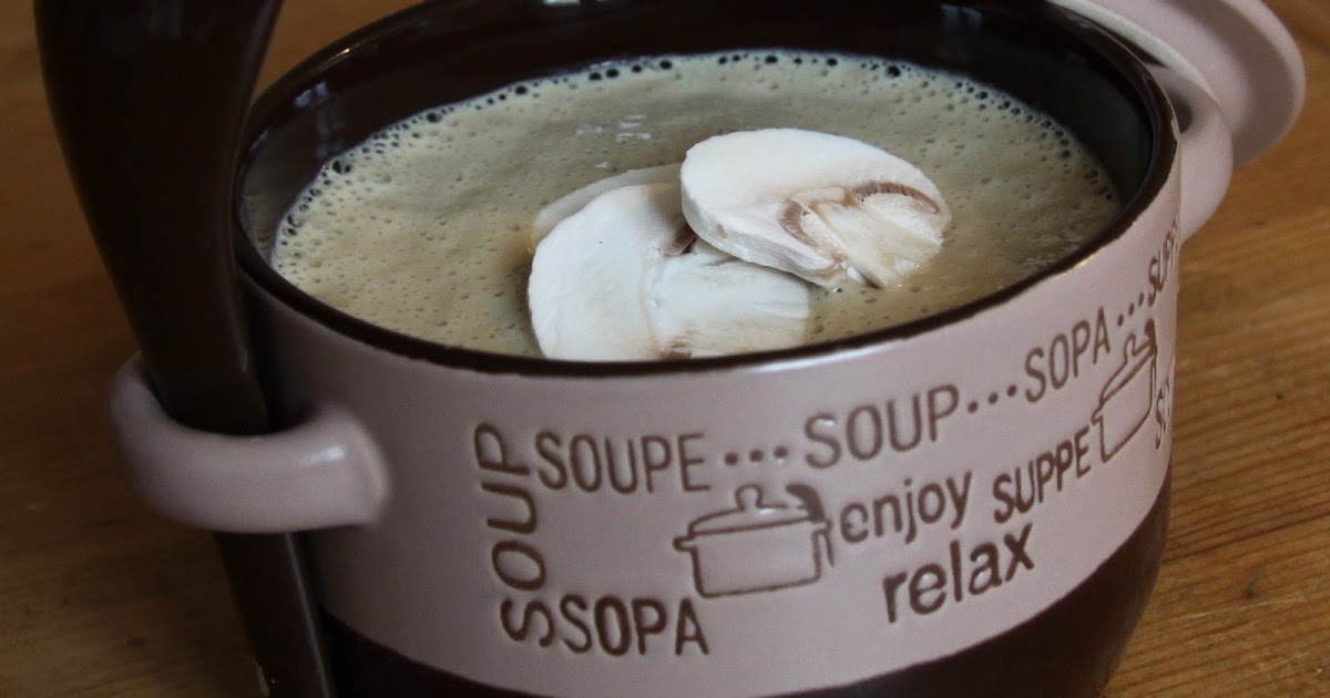 Raw Loulou: Rawloulou's Creamy Mushroom Soup