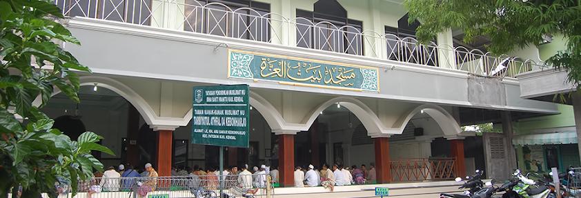 Masjid Agung Patebon Kendal depan PP. Aliton Patebon