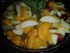 Photo: Salade de fruits frais