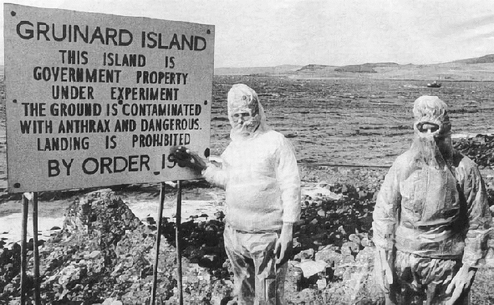 The Dark Legacy of Gruinard Island
